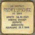 Stolperstein für Fischel Lipschitz (Libourne).jpg
