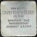 Stolpersteine Köln Aachener Strasse 409 Stolperstein David Ichenhaeuser.jpg