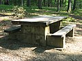 Stone picnic table in the CCC picnic grounds at Jackson-Washington State Forest.jpg