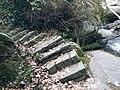 Stone steps, Mount Heng (Hunan), 20170102.jpg