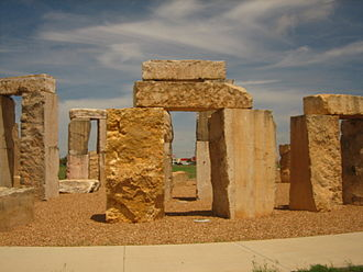 Stonehenge replica (Odessa, Texas) - Stonehenge replica on campus of the University of Texas of the Permian Basin in Odessa