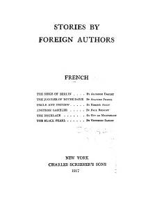 Stories by Foreign Authors (French I).djvu