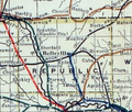 Stouffer's Railroad Map of Kansas 1915-1918 Republic County.png