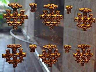 Hiddensee treasure - Closeup of some pendants.