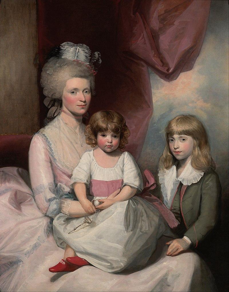Stuart, Gilbert - Portrait of a Family - Google Art Project.jpg