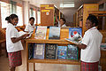 Students from Caritas Technical Secondary School in various classrooms, East Boroko, PNG. (10725861265).jpg