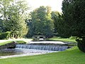Studley Royal - Rustic Bridge, Canal and Gardens - geograph.org.uk - 1005911.jpg