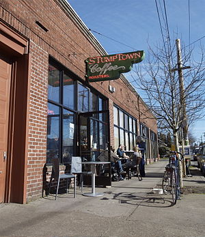 The original Stumptown Coffee Roasters located...