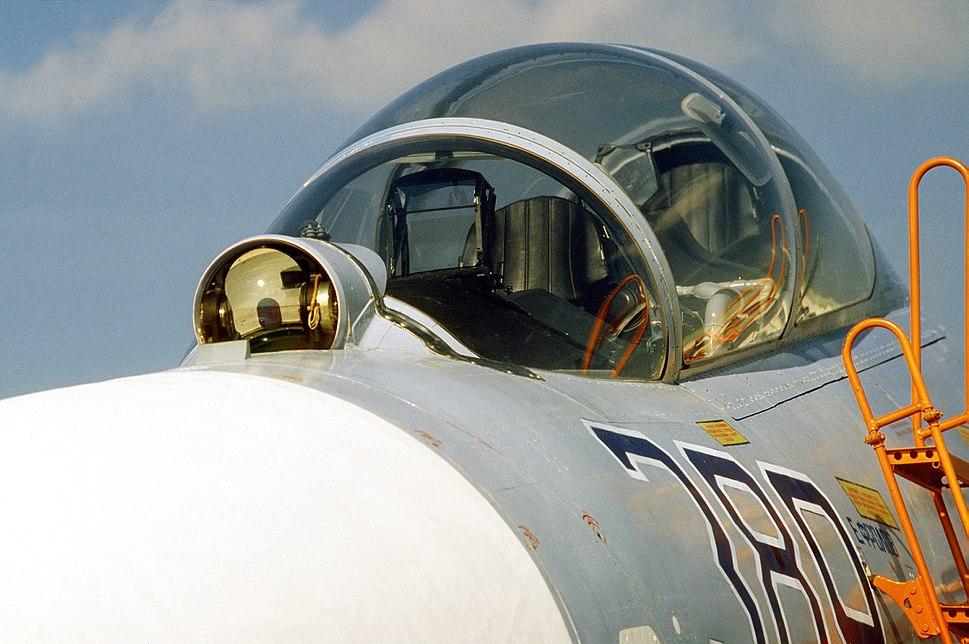 Su-27UB cockpit