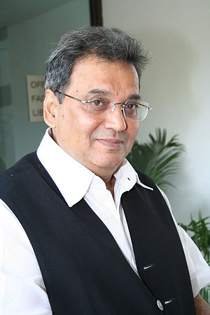English: Subhash Ghai announces Hello Darling