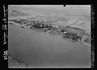 Kosti, Sudan - Image: Sudan Kosti Air View 1936 G Eric Matson US Library of Congress