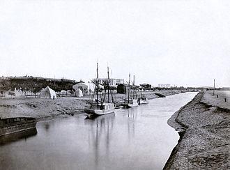 Sweet Water Canal - Image: Suez Canal Ismailia 2 courtesy copy