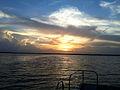 Sunset on Lake Jesup, Oviedo, FL.jpg