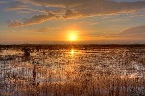 Sunset over the River of Grass, NPSphoto, G.Gardner (9255157507).jpg