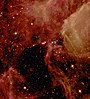 Supernova SN1987A in the Large Magellanic Cloud, as seen from the Hubble Space Telescope