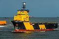 Supply ship Idun Viking - IMO 9280445 - Aberdeen, Scotland - 31 Jan. 2015.jpg