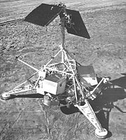 Hughes-built NASA Surveyor lunar lander