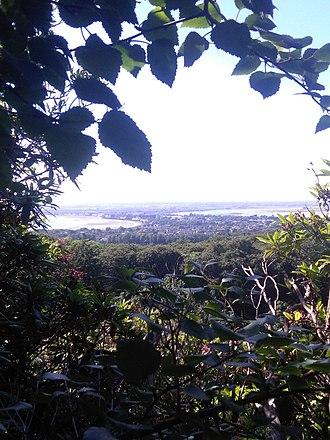 Sutton, Dublin - Sutton as seen from Howth Head.