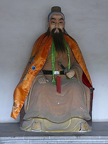 Suzhou - Statue of Wu Zixu at Pan Men.jpg