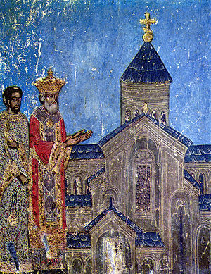 History of Georgia (country) - King Mirian III established Christianity in Georgia as the official state religion in 324.