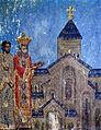 Svetitskhoveli fresco. King Mirian.jpg