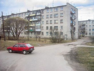Karelian question - Blocks of flats built in the Soviet era in Svetogorsk (Enso)