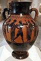 Swing painter, anfora con eracle e busiride, re mitologico dell'egitto che offriva sacrifici umani, attica, 540 ac ca. 02.jpg