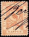 Switzerland Bern 1880 revenue 10rp - 8F.jpg