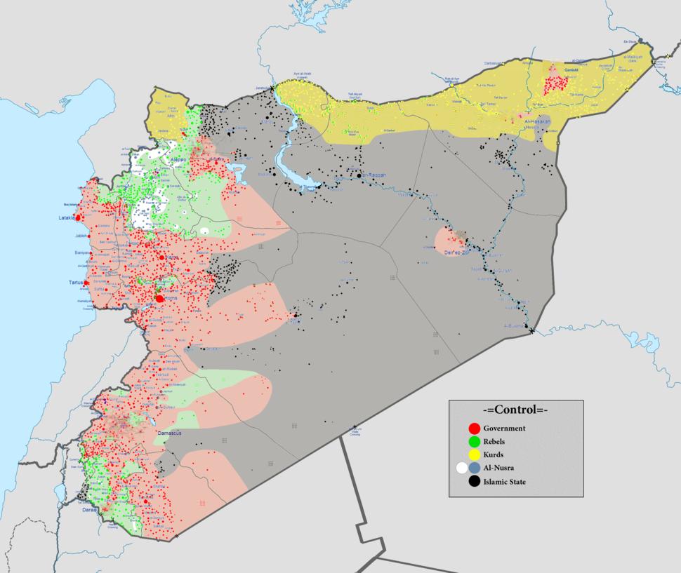 Syrian civil war 01 11 2015
