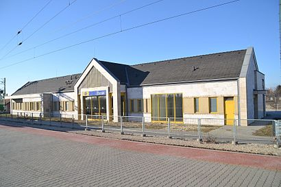 How to get to Tárnok Vasútállomás with public transit - About the place