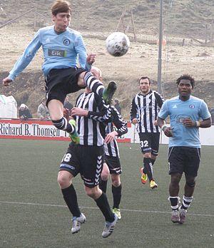 Víkingur Gøta - Víkingur Gøta vs. TB Tvøroyri in March 2012, Effodeildin.