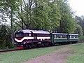 TUm diesel locomotive in Aluksne.jpg