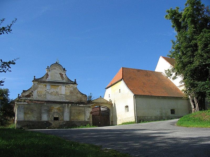zámek Tažovice