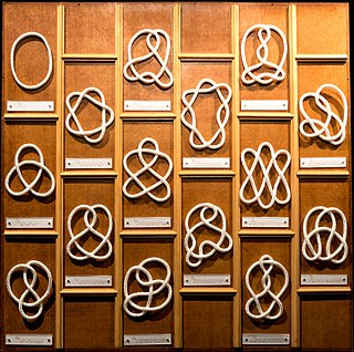 Knot theory Study of mathematical knots
