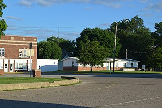National Register of Historic Places listings in Fulton County, Illinois - Image: Table Grove square, northwestern quadrant