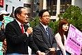 Tadatomo Yoshida and Kazuo Shii in SL Square on 2017 - 2.jpg