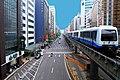 Taipei Metro Wenshan Line and Fuxing North Road 20100404.jpg