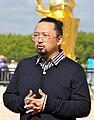 Takashi Murakami at Versailles Sept. 2010 (crop).jpg