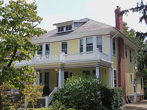 Takoma, Washington, D.C. - House on Cedar St. NW