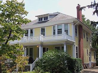 Takoma, Washington, D.C. - House on Cedar St. NW