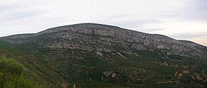 Talaies d'Alcalà - Cliffs at the southern end of the Talaies range