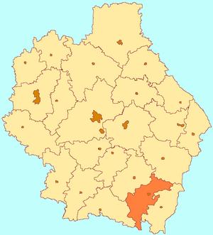 Uvarovsky District - Image: Tambov oblast Uvarovo