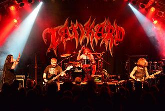 Tankard (band) - Tankard performing at Hamburg Metal Dayz, 2014