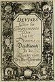 Tapisseries du Roy, ou sont representez les quatre elemens et les quatre saisons; avec les devises qui les accompagnent et leur explication - Königliche französische Tapezereyen, oder überaus schöne (14765994803).jpg