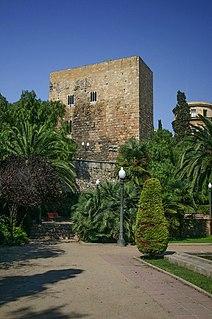Provincial forum of Tarraco archaeological site in Tarragona, Catalonia, Spain