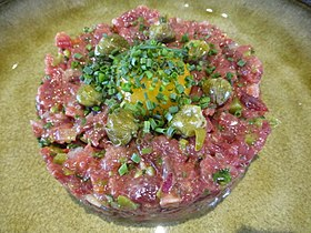 image illustrative de l'article Steak tartare