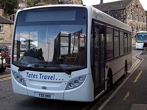 Tates Travel - Alexander Dennis Enviro 200 in Holmfirth in September 2011