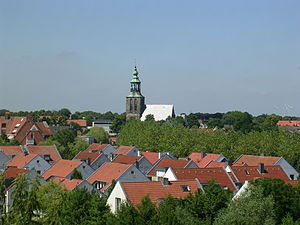 Nordhorn - View of the Povelberg
