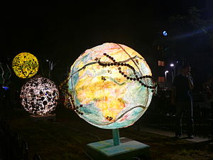 CowParade - Globe in TelAviv, A Gateway to the World, 2007