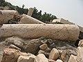 Tel Bet She'an Broken column 1251 (514227203).jpg